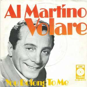 "Al Martino - Volare (7"" Capitol Vinyl-Single Holland)"