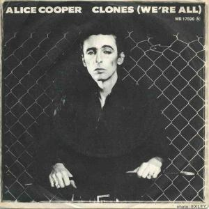"Alice Cooper - Clones (7"" Warner Bros Vinyl-Single)"