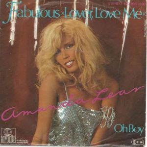 "Amanda Lear - Fabulous Lover, Love Me (7"" Ariola Single)"