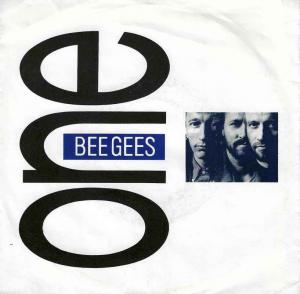 "Bee Gees - One / Flesh And Blood (7"" Vinyl-Single Germany)"