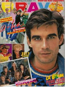 Bravo Issue 47/1986: 3 Poster & Autogrammkarte Europe