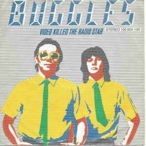 "Buggles - Video Killed The Radio Star (7"" Single Germany)"