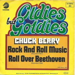 "Chuck Berry - Rock And Roll Music / Roll Over Beethoven (7"")"