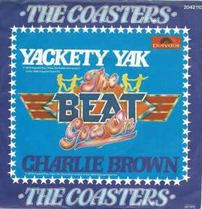 "The Coasters - Yackety Yak / Charlie Brown (7"" RE Single)"