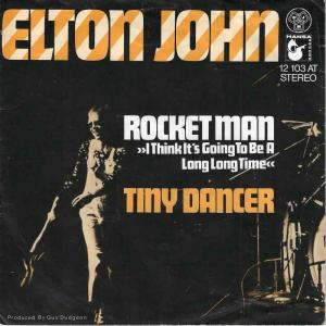 "Elton John - Rocket Man (7"" DJM Vinyl-Single Germany)"