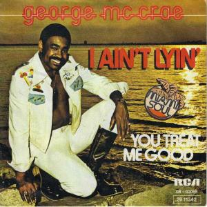 "George McCrae - I Ain't Lyin (7"" Vinyl-Single Germany)"