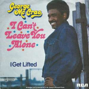 "George McCrae - I Can't Leave You Alone (7"" RCA Single)"
