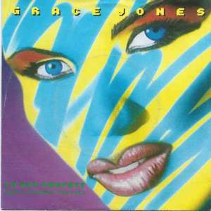 "Grace Jones - I'm Not Perfect (7"" Vinyl-Single Germany)"