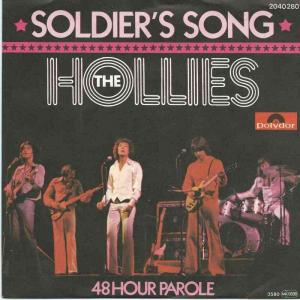 "The Hollies - Soldier's Song (7"" Polydor Vinyl-Single)"