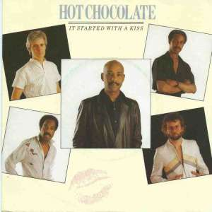 "Hot Chocolate - It Started With A Kiss (7"" Vinyl-Single)"
