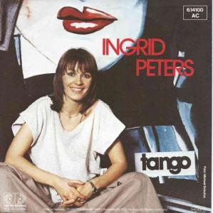 "Ingrid Peters - Tango (7"" Jupiter Vinyl-Single Germany)"