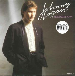 "Johnny Logan - Hold Me Now (7"" Epic Vinyl-Single Holland)"