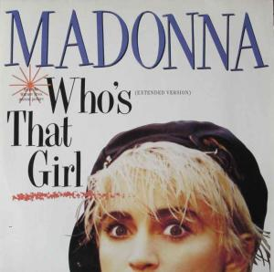 "Madonna - Who's That Girl (12"" Vinyl Maxi-Single Germany)"