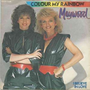 "Maywood - Colour My Rainbow (7"" CNR Vinyl-Single Germany)"