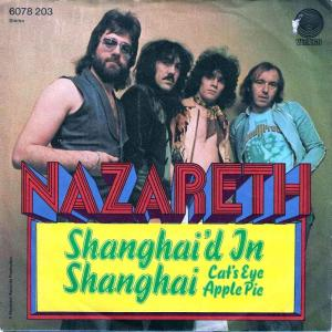 "Nazareth - Shanghai'd In Shanghai (7"" Vertigo Single)"