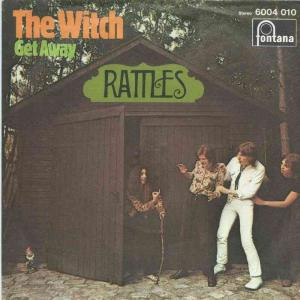 "The Rattles - The Witch (7"" Fontana Vinyl-Single Germany)"