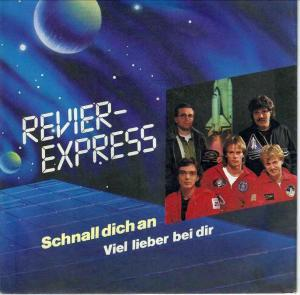 "Revier-Express - Schnall dich an (7"" Single mit PR-Info)"