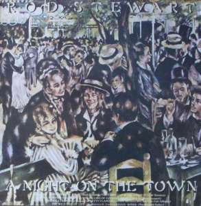 Rod Stewart - A Night On The Town (WEA LP Germany 1976)