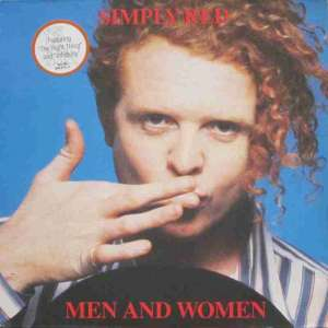 Simply Red - Men And Women (Elektra LP OIS Germany 1987)
