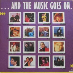 And The Music Goes on - 28 TOP-Songs (2 Vinyl-LPS 1987)