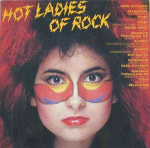 Hot Ladies Of Rock - 14 TOP-Songs (Vinyl-LP England)