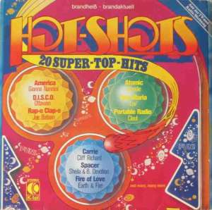 Hot-Shots - 20 Super-TOP Hits (K-tel Vinyl-LP Germany)