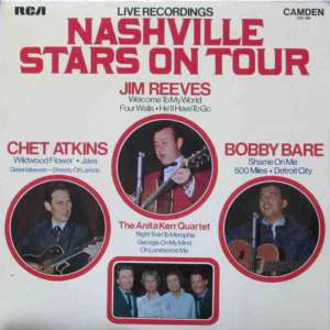 Nashville Stars On Tour - Live Recordings (Vinyl-LP UK)