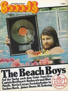 Sounds September 1975 (09/75) Titlestory: The Beach Boys