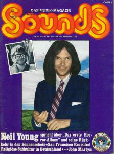 Sounds November 1975 (11/75) with rare Randy Pie Poster