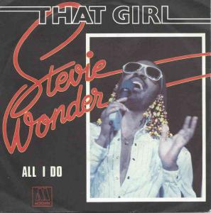 "Stevie Wonder - That Girl (7"" Motown Vinyl-Single France)"