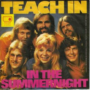 "Teach In - In The Summernight (7"" Vinyl-Single Germany)"