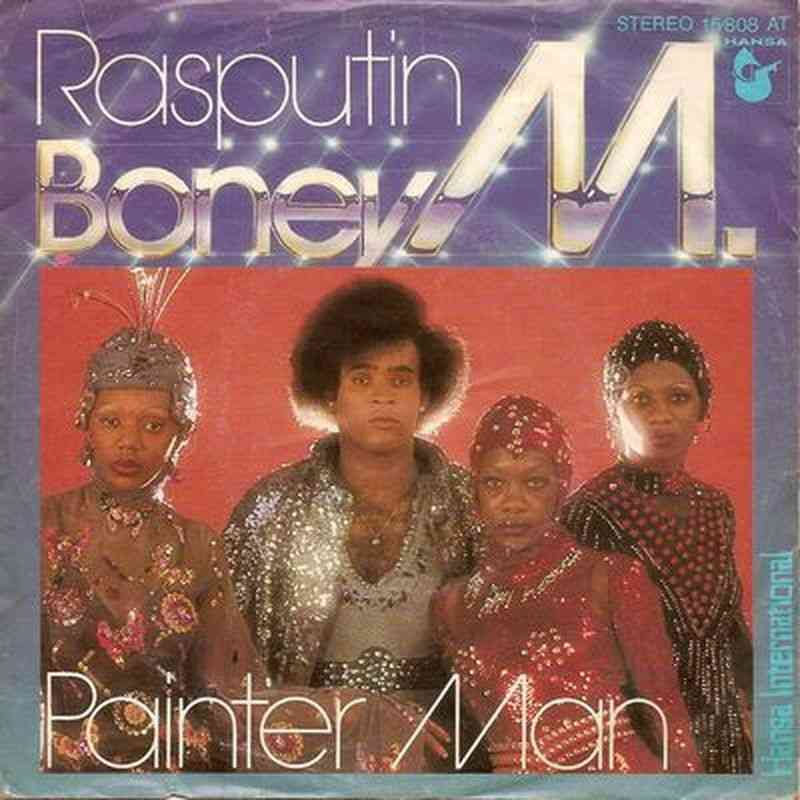 Boney M Rasputin Single Germany 1978