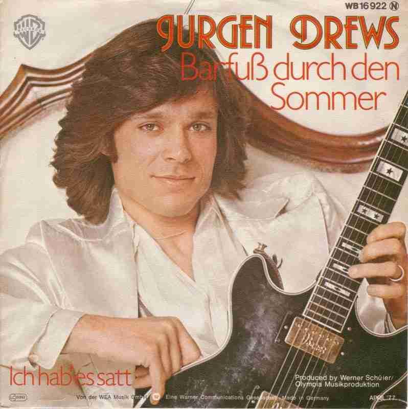 Jürgen Drews - Barfuss durch den Sommer (Vinyl-Single)