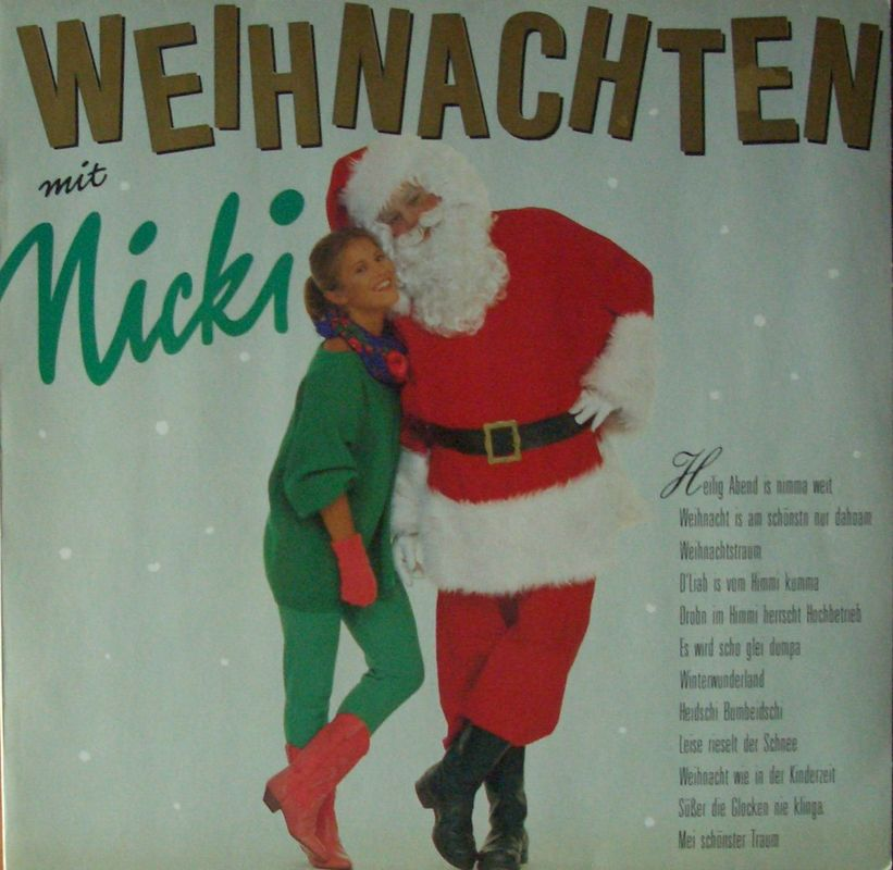 nicki weihnachten mit nicki vinyl lp germany 1985. Black Bedroom Furniture Sets. Home Design Ideas