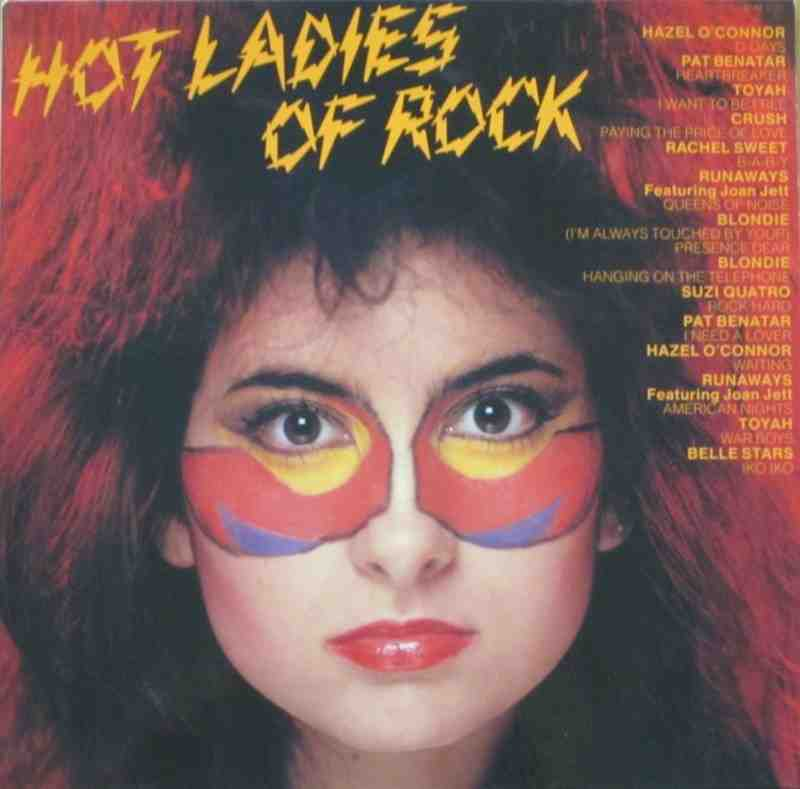 Hot Ladies Of Rock 14 Top Songs Vinyl Lp England