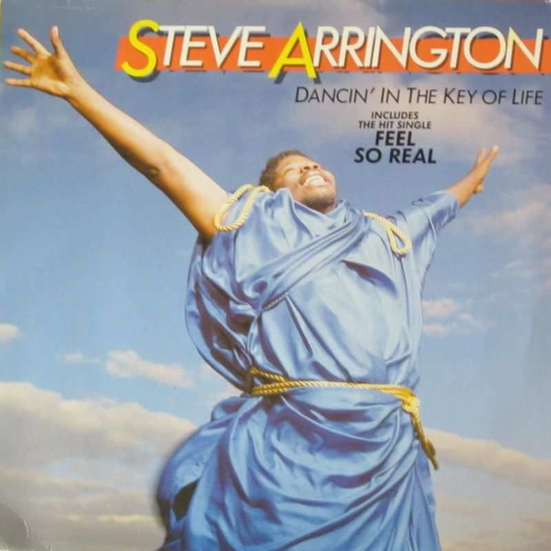 Steve Arrington - Dancin' In the Key Of Life (LP 1985)
