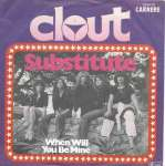 Clout - Substitute (Carrere Vinyl-Single Germany 1979)