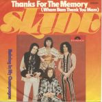 Slade - Thanks For The Memory (Single Germany 1975)
